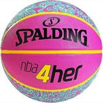 Spalding NBA 4HER Basketball Pink Str.6